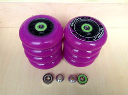 Wholesale A Set ILQ With Omar Roller Skate Wheels FSK Free Slalom A Braking Skating Wheels Spacers ILQ ILQ Bearings