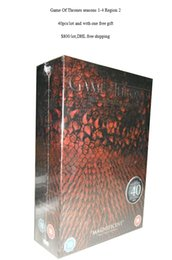 Wholesale 2015 Hot Sale Any quantity of latest DVD Movies TV series game of thrones Region UK edition box sets