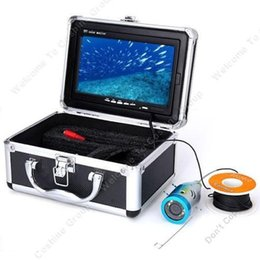 """EMS free shipping 30m Long Fish Finder Underwater Fishing Video Camera 7"""" HD Monitor"""