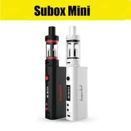 Cloupor gt en Ligne-Kanger Subox Mini Starter Kit avec Subtank mini sub ohm atomiseurs 1: 1 clone KBOX Mini 5W-50W batterie VS Cloupor GT Evic vt DHL livraison gratuite