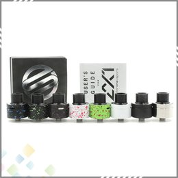 Wholesale Vaporizer AX1 RDA Clone Rebuildable Atomizers mm AX RDA Airflow Control Huge Vapor Fit Box Mods DHL Free