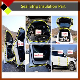 Wholesale ools Maintenance Care Fillers Adhesives Sealants Auto Rubber Seal Strip Sealing Hollow Fit Captiva Engine Trunk Door C B Pillar Weather