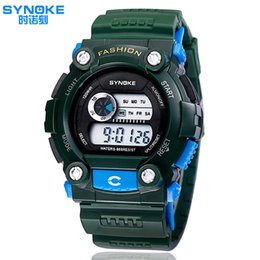 Wholesale SYNOKE Top Digital Watches The Young Peoples Life Style Fashionable Mens Sports Waterproof Watch Student Table Best Friends Watch