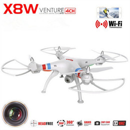 Wholesale 2 MP High Definition Camera CH Channel Best Camera Drones Support Degree Rolling Professional Camera Drones for X8W