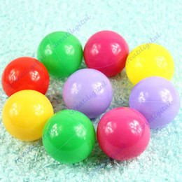 Wholesale 50Pcs Colorful Ball Fun Ball Soft Plastic Ocean Ball Baby Kid Toy Swim Pit Toy