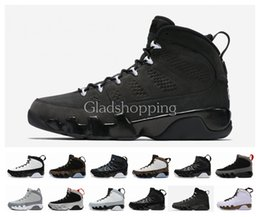 Wholesale 2015 New Retro Anthracite Copper Statue Baron Charcoal Johnny Kilroy Mens Basketball Shoes Cheap New AJ9 Retro IX Sneakers J9s US