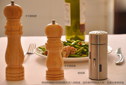 Wholesale Wooden pepper mill pepper grinder hand grinder black pepper pepper grinder stainless steel core