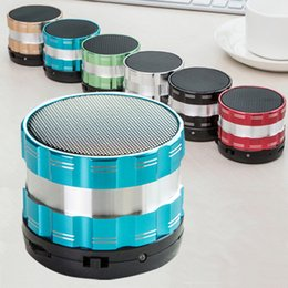 Wholesale Wireless Bluetooth Mini Speaker S26 Metal Micro TF Card Read For MP3 Car Ipad Air Mini Cellphone Tablet Iphone