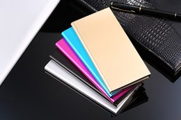 New Metal Ultra Thin Power Bank 50000mah Universal powerbank Portable Mobile Phone External Charging Battery Charger Backup Pack