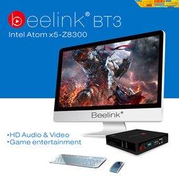 Wholesale Beelink Intel BT3 Support Windows10 Intel Atom x5 Z8300 Processor M Cache up to GHz DDR3 GB Mbps LAN mini pc