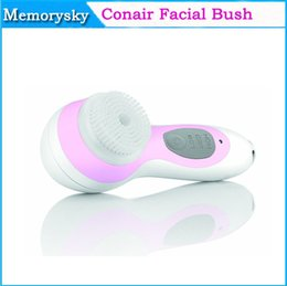 Wholesale New Arrival Conair Facial Skin Care System Electronic Beauty Insrument Ultrasonic Facial Cleanner Facial Massager Brush