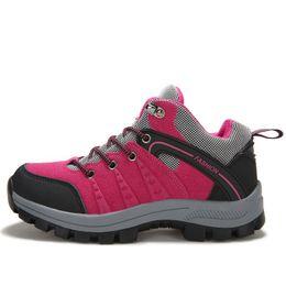 Wholesale-hot selling autumn winter warm shoes women mountain boot hiking climbing shoes walking outdoor shoes free shipping sapato 26