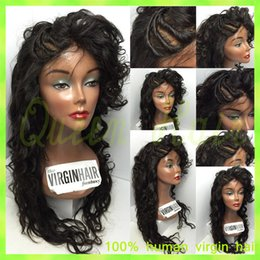 Malaysian virgin hair lace front wig human hair wigs for black women unprocessed full lace human hair wigs natural hairline