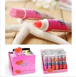Lipsticks High Quality Long Lasting Peeling off Lip Tattoo Lipgloss Balm Plant Lip Gloss Romantic Makeup Moisturizing Edible Lip Mask