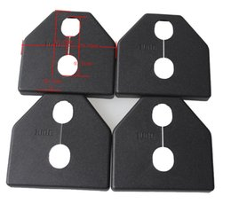 Car Door lock protective cover fit for subaru forester OUTBACK Impreza legacy XV plastic 4pcs per set