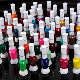 Wholesale 60 Colors Nail Paint Pen Varnish Polish Tool Set Ways Nail Art Brush Diy
