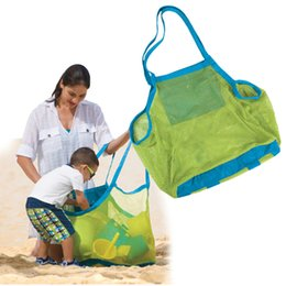Wholesale 45 cm Children Beach Sandy Toy Collecting Bags Outdoor Shell Organizer Bag Shells Receive big size