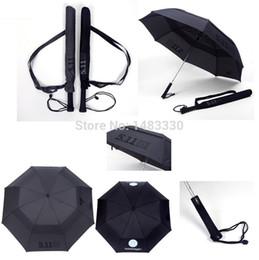 Wholesale Super Classic Military Quality Emblem Oversize Automatic Dual Folding Double Layers Men Man Windproof Personalized Umbrella
