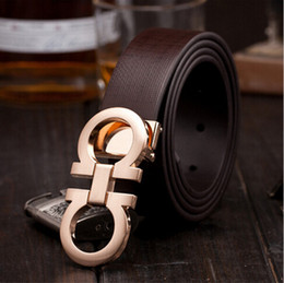 Wholesale 2015 Fashion brand Metal H series smooth Buckle mens belts luxury leather belt European style belts for Men