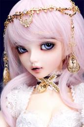 Muñecas bjd en venta-Los ojos y las pestañas libres FAIRYLAND de la muñeca de Wholesale-Bjd 1/4 MiniFee Bjd Chloe liberan el envío