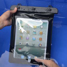 Cubierta impermeable de la caja del filtro de la cubierta impermeable impermeable de la manga de la tableta de la bolsa para el ipad mini 4 para el ipad Aire 2 tableta 10