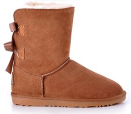 Wholesale 2014 NEW Womens boots BAILEY BOW Boots Snow Boots for Women
