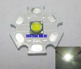 Wholesale-Free shipping new Cree XLamp XML U2 White Color 10W LED Emitter with 20mm Star Heatsink