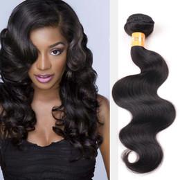 Promotion peut teindre remy extensions de cheveux Péruvienne brésilienne Vierge indienne trame humaine trame 8