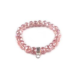 Wholesale News TS DIY High Quality Colorful Crystal Bracelets For Women Vintage Jewelry Best Gifts