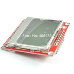 Wholesale White Backlight x84 LCD Display Module Adapter PCB for Nokia lcd ibook