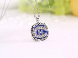 N.H.L.champion necklace Fans Souvenir Collection 1986 Montreal Canadiens Champion necklace Fashion Jewelry