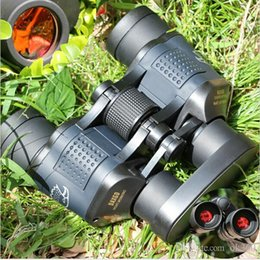 Wholesale New x60 M Ourdoor Waterproof Telescope High NEW Power Definition Binoculos Night Vision Hunting Binoculars Monocular Telescopio