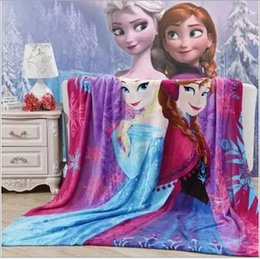Wholesale 150 cm AAA quality color print warm large soft kid baby flange coral fleece blankets bed sheet nap sheet blankets TOPB1582