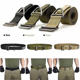 Wholesale 2015 high quality colorful Adjustable Survival Tactical Belt Emergency Rescue Rigger Militaria Military hunting belts