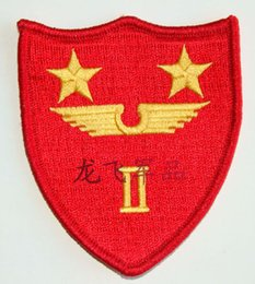Wholesale Embroidery badge armband American marines second air wing command armband