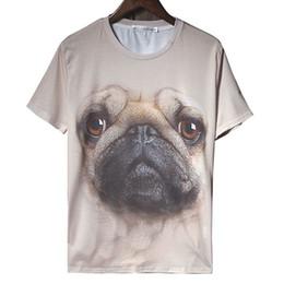 Descuento tipos de pantalones cortos para las mujeres W1213 Mujeres Hombres 3D T-shirt Camisetas de las mujeres Tops Estilo del verano Vestido informal Bull Tipo de perro Manga corta más tamaño Roupus Mujeres Ropa