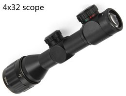 4 x 32 AOIR 4A IR Mil-Plex réticule Air Rifle portée pour la chasse Gunsight à partir de chasse ir fabricateur