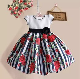 Wholesale Little Girl Clothes For Sale - Hot Sale 2016 Baby Princess Girls Dress Lace Little Girl Vest Clothes Summer Infant Clothing For Princess Party Wear Kids Clothing