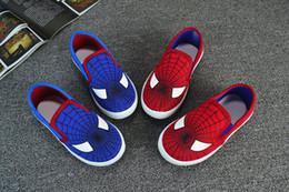 Zapatos de los niños de los deportes desde zapatos de hombre araña para niños fabricantes