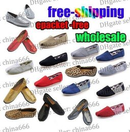 Wholesale HOT Size Brand Fashion Women Solid sequins Flats Shoes Sneakers Women and Men Canvas Shoes loafers casual shoes Espadrilles