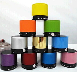 S10 Bluetooth Speakers Mini S10 Speaker Wireless Portable Speakers HI-FI Music Player Home Audio for iphone 5 iphone 4 dhl