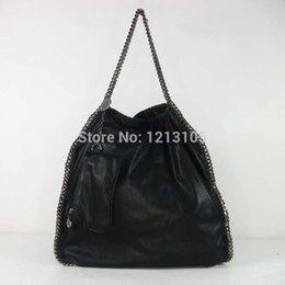Wholesale Folding shopping bag of wave packet Falabella chain in Europe and America one shoulder handbag fan bingbing women s handbags