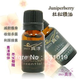 Wholesale Natural plants wisgin pure essential oil ml detox weight loss acne juniper berries