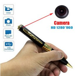 Compra Online Las mini cámaras digitales-El registrador video de Digitaces de la cámara del espía video del ESPÍA de 1280 * 960 mini DV DVR espía el envío libre ocultado
