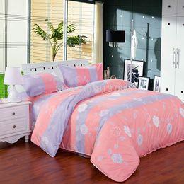 Wholesale Factory Direct NEW Home textile Promotion Reactive Bedding Set duvet cover Bed linen Sheet Pollen family