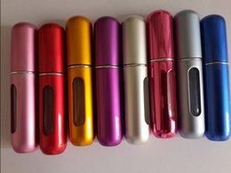 Wholesale 500PCS ML New Mini Perfume Bottle Sprayer Refilled Bottle Perfume Atomizer Mini Bottle DHL L001 ML