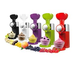Wholesale 2015 NEWS Ice Cream Tools Big Boss Swirlio Frozen Fruit Ice cream Dessert Maker Magic Snack Maker