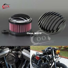Wholesale CNC Rough Crafts Headlight Grill Air Cleaner Fits for Harley Davidson Sportster UP
