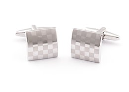 2016 fashion design men shirt cufflink french cufflinks business gift laser cuff link fasther's day gift cufflinks W145