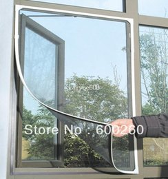 Wholesale Insect Fly Bug Mosquito Door Window Net Netting Mesh Screen Sticky Velcro Tape